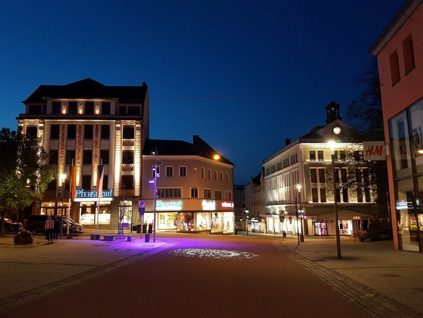 Lichtplanung Altstadt Hof