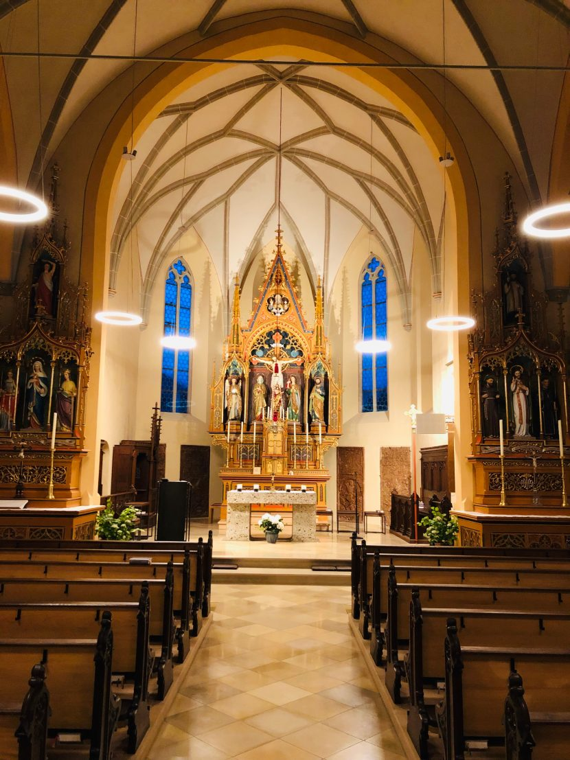 Lichtplanung Kirche St. Michael Großhöhenrain