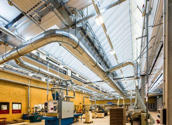 Licht und Gesundheit: Lichtplanung IWL Werkstätten