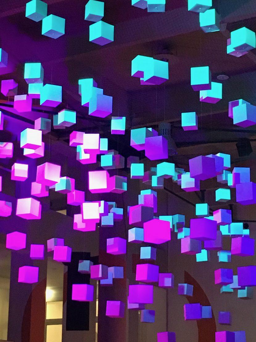 Lichtdesign - Dies Academicus TH Rosenheim