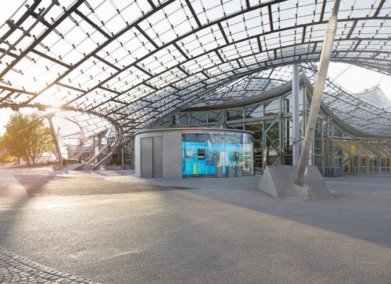 Lichtkonzept Olympia Pavillon
