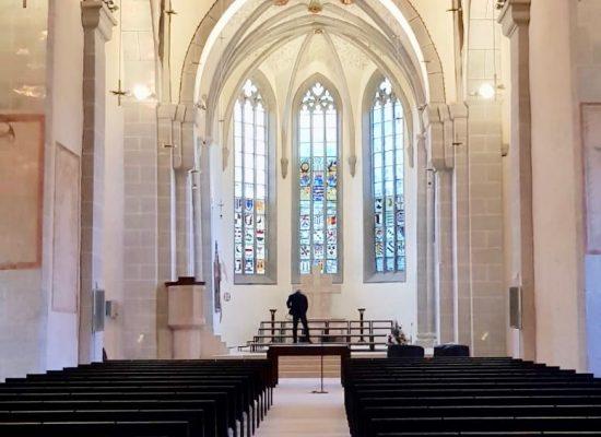 Lichtplanung Stiftskirche Kaufungen