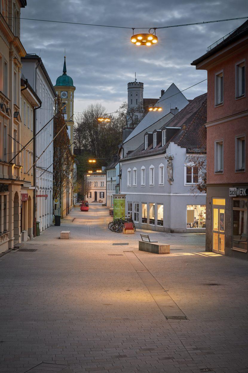 Lichtplanung Freising Masterplan